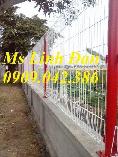 Hàng rào lưới thép sơn tĩnh điện, lắp đặt hàng rào lưới thép sơn tĩnh điện,1