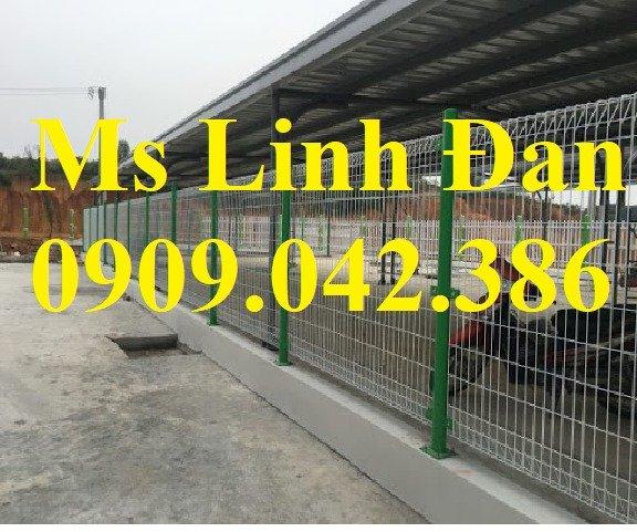 Hàng rào lưới thép sơn tĩnh điện, lắp đặt hàng rào lưới thép sơn tĩnh điện,0