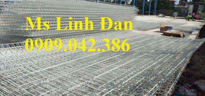 Lưới thép hàng rào sơn tĩnh điện d4, d5, d6,8