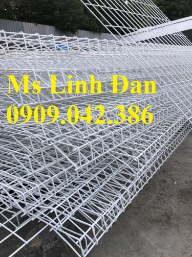Lưới thép hàng rào sơn tĩnh điện d4, d5, d6,5