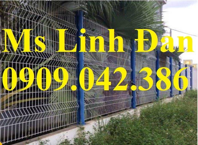 Lưới thép hàng rào sơn tĩnh điện d4, d5, d6,3