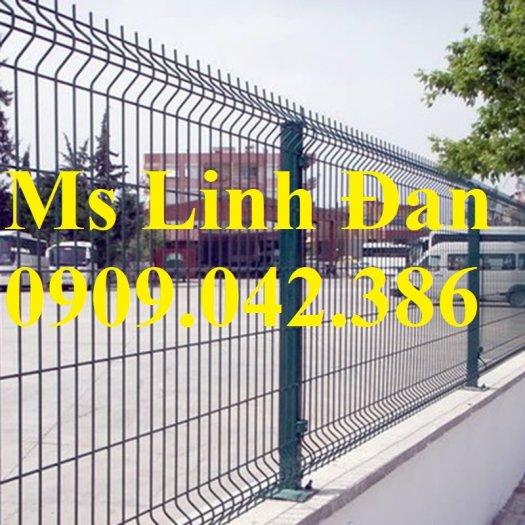 Lưới thép hàng rào sơn tĩnh điện d4, d5, d6,0