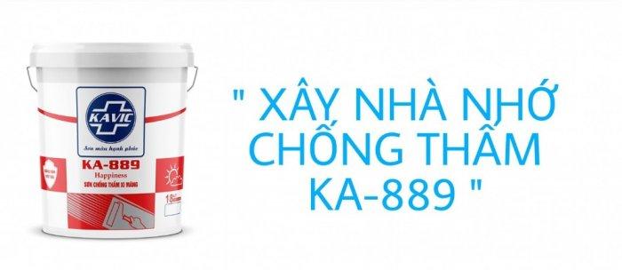 Sơn Kavic chống thấm xi măng KA-8894