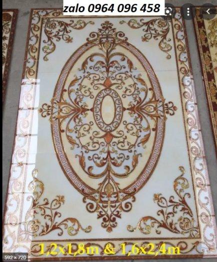 Gạch thảm - thảm gạch lát nền phòng khách - 545XN9