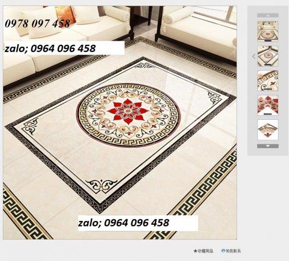 Gạch thảm - thảm gạch lát nền phòng khách - 545XN4