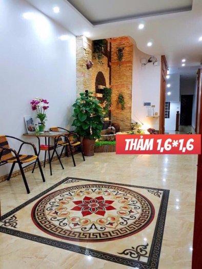 Gạch thảm - thảm gạch lát nền phòng khách - 545XN2