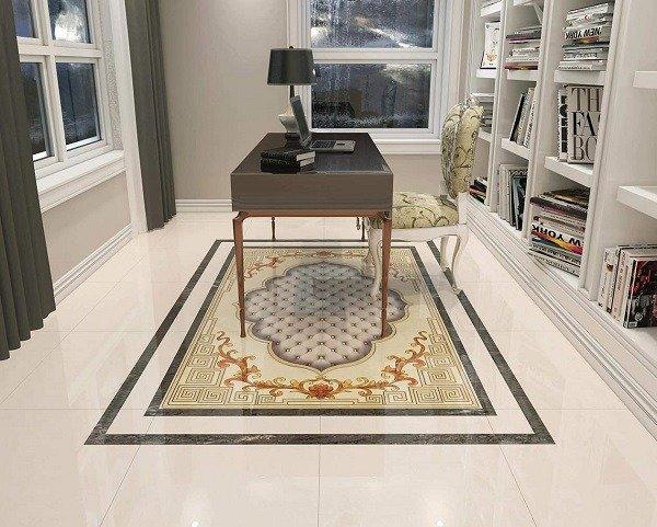 Mẫu gạch thảm lát nền phòng khách - VCV41