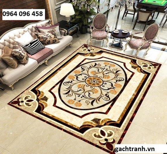 Gạch thảm phòng khách khổ lớn - 755XP4