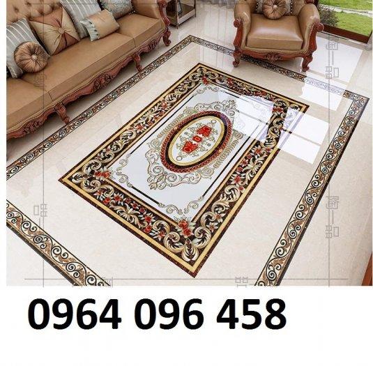 Mẫu gạch thảm lát nền phòng khách đẹp - 7DL7