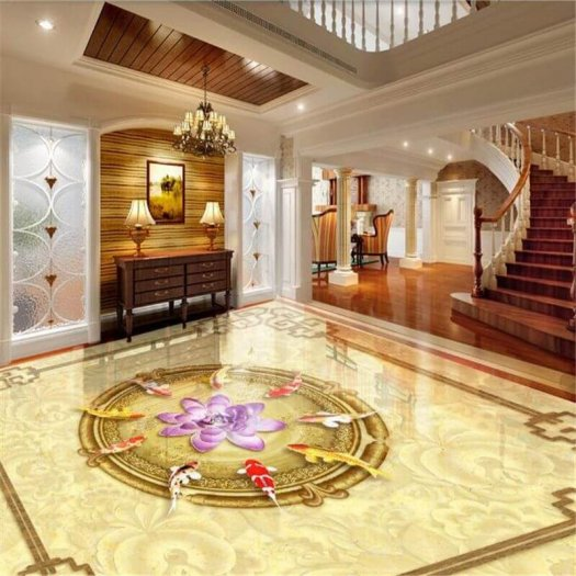 Gạch thảm lát nền - gạch thảm trang trí phòng khách - VCX33
