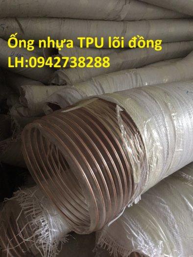Ống nhựa TPU lõi thép mạ đồng phi 90 giá ưu đãi3