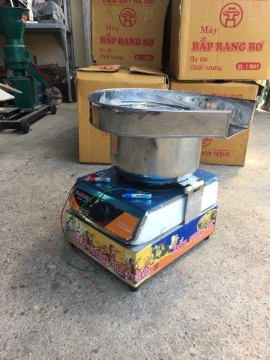 Máy bắp rang bơ inox công nghiệp1