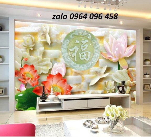 Tranh 3d - tranh gạch 3d phòng khách - XCC47