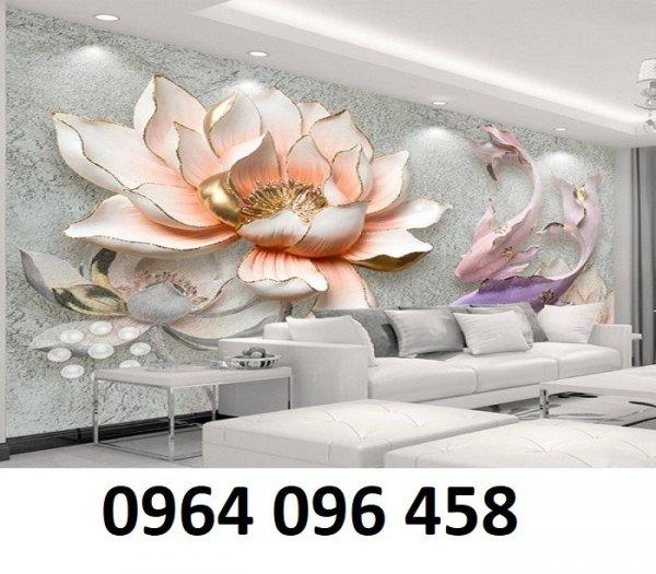 Tranh 3d - tranh gạch 3d phòng khách - XCC46