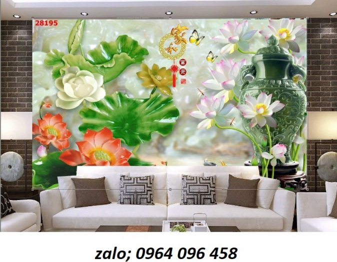 Tranh 3d - tranh gạch 3d phòng khách - XCC45