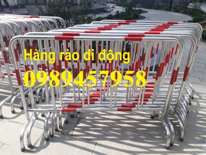 Hàng rào di động có bánh xe, hàng rào di động inox304, Hàng rào phản quang5