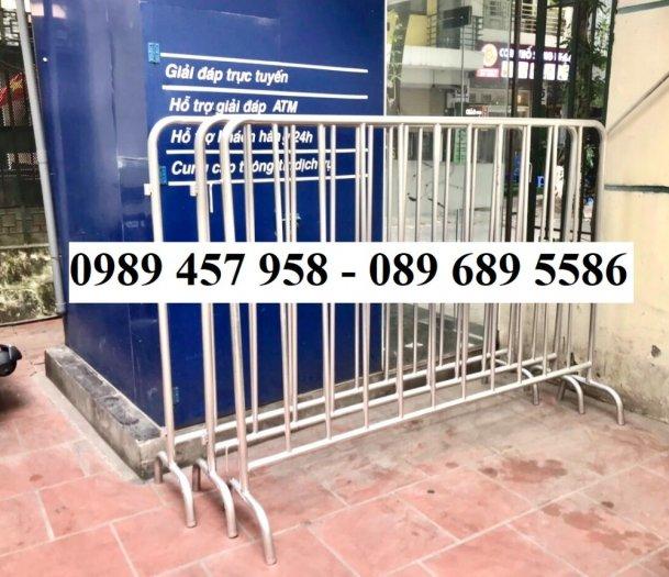 Hàng rào di động có bánh xe, hàng rào di động inox304, Hàng rào phản quang4