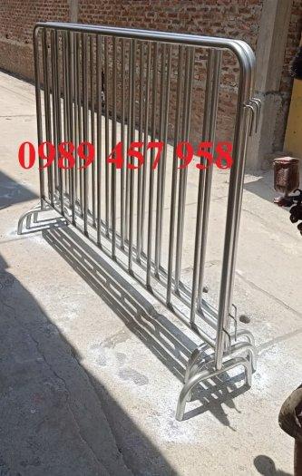 Hàng rào di động có bánh xe, hàng rào di động inox304, Hàng rào phản quang3