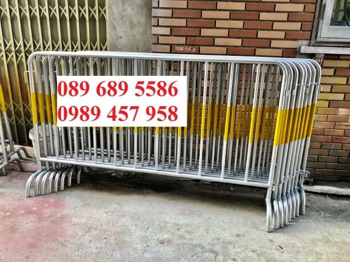 Hàng rào di động có bánh xe, hàng rào di động inox304, Hàng rào phản quang0