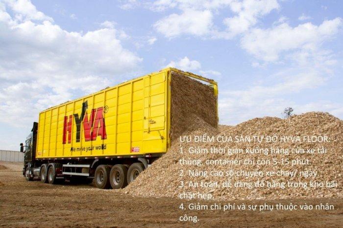 Sàn Tự Đổ Hyva Moving Floor xe tải thùng, container2