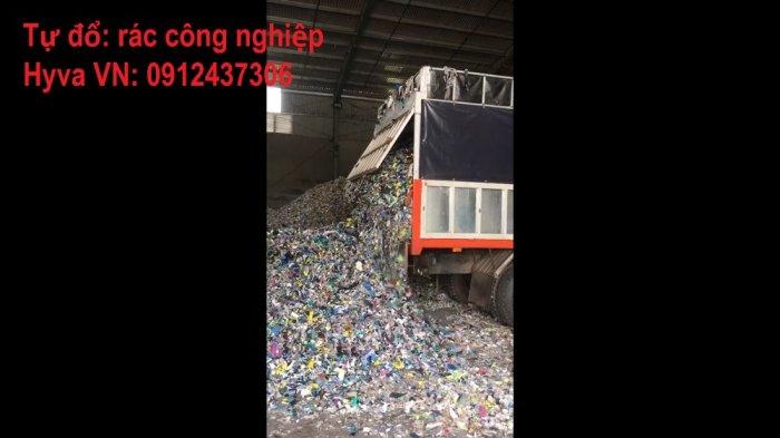 Sàn Tự Đổ Hyva Moving Floor xe tải thùng, container1