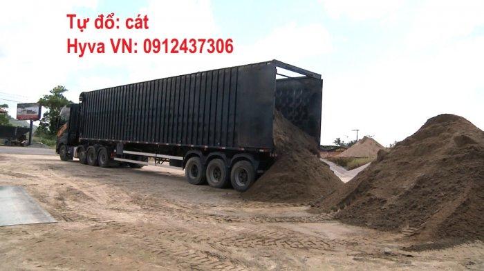 Sàn Tự Đổ Hyva Moving Floor xe tải thùng, container0