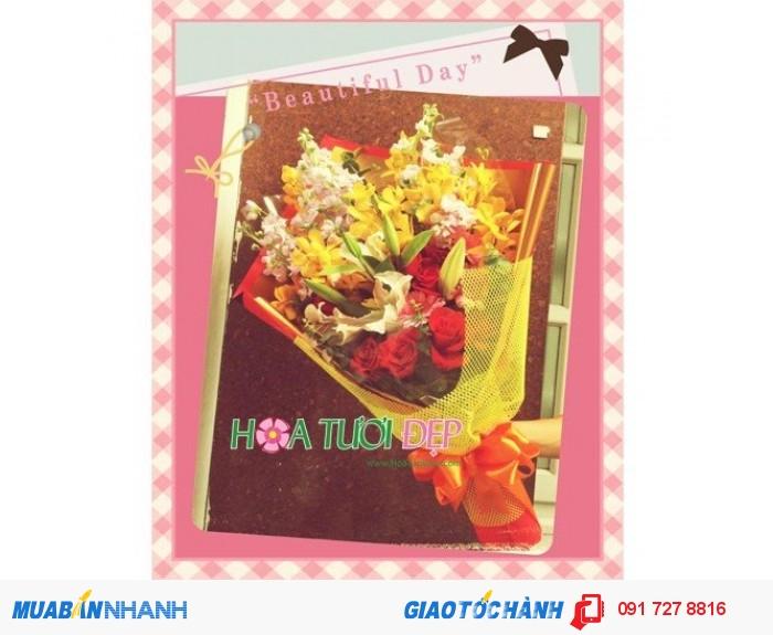 Hoa Mừng Sinh Nhật BSN014 Giá: 500000 VND
