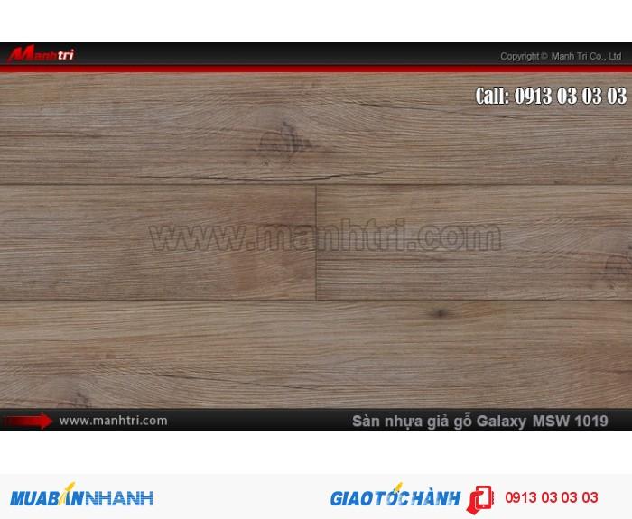 Sàn nhựa giả gỗ Vinyl Galaxy MSW 10190
