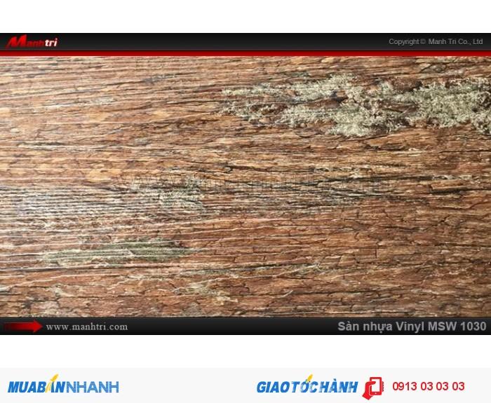 Sàn nhựa giả gỗ Vinyl MSW 10300
