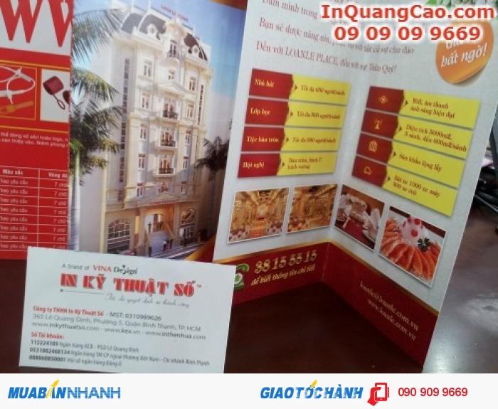 Brochure quảng bá sản phẩm cho doanh nghiệp