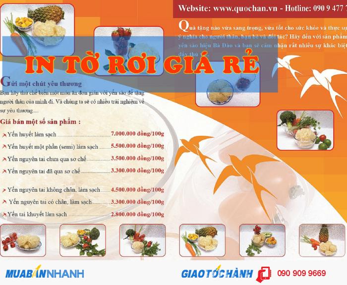 In tờ rơi giá rẻ quận Phú Nhuận