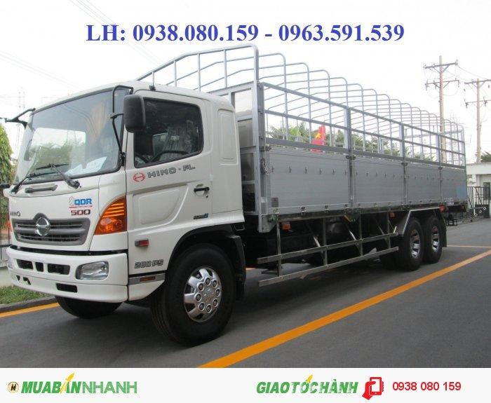 Hino 500 Series (MDT) sản xuất năm 2015 Số tay (số sàn) Xe tải động cơ Dầu diesel