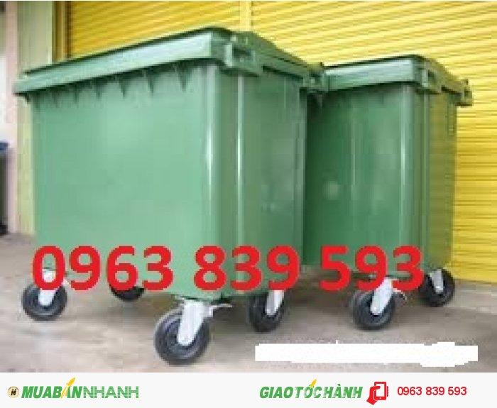 Thùng rác công nghiệp 660L3
