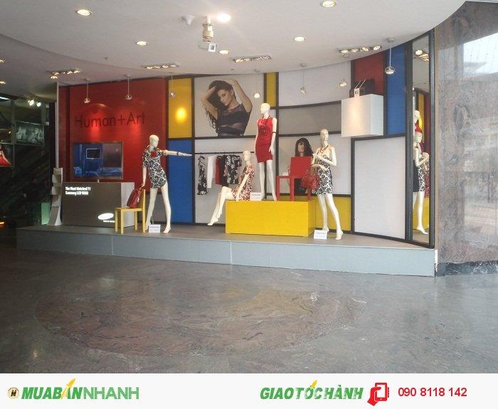Thi công Showroom quảng cáo thời trang