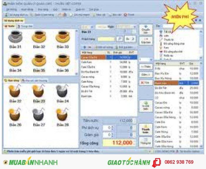 Phần mềm tính tiền nhà hàng tại Bình Dương - Bình Phước