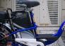 Xe đạp điện asama màu xanh có bảo hành