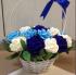 Giỏ hoa giấy Valentine
