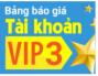 Chú ý! Tặng ngay 50% giá trị tài khoản khi tham gia Chương trình VIP 3!