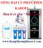 Cách chọn mua máy lọc nước từng cấp phù hợp với nhu cầu gia đình
