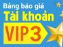 VIP 3 khuyến mãi khủng, doanh thu bất ngờ