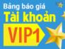VIP 1 nổi trội, bất ngờ , thành công dành cho bạn