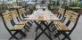 Bàn ghế gỗ quán ăn quán nhậu giá rẻ