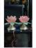 Cặp đèn hoa sen chưng bàn thờ Phật