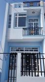 Cần bán nhà mới xây 1 trệt 1 lầu,trên quốc lộ 50 diện tích 4,5x18m