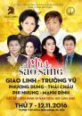 Bán vé đêm nhạc Giao Linh; Trường Vũ; Phi Nhung  Mùa sao sáng ngày 12/11/2016 tại Cung văn hóa Việt Xô
