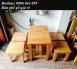 Thanh lý mấy bộ bàn ghế gỗ cà phê giá rẻ -miễn phí vận chuyển