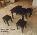 Bộ bàn ghế gỗ cafe giá rẻ, miễn phí vận chuyển