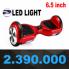 Xe điện cân bằng SMARTwheel 2 đèn LED cao cấp
