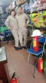 Quần áo bảo hộ lao động màu ghi