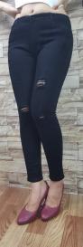 Quần jean nữ đen tuyền